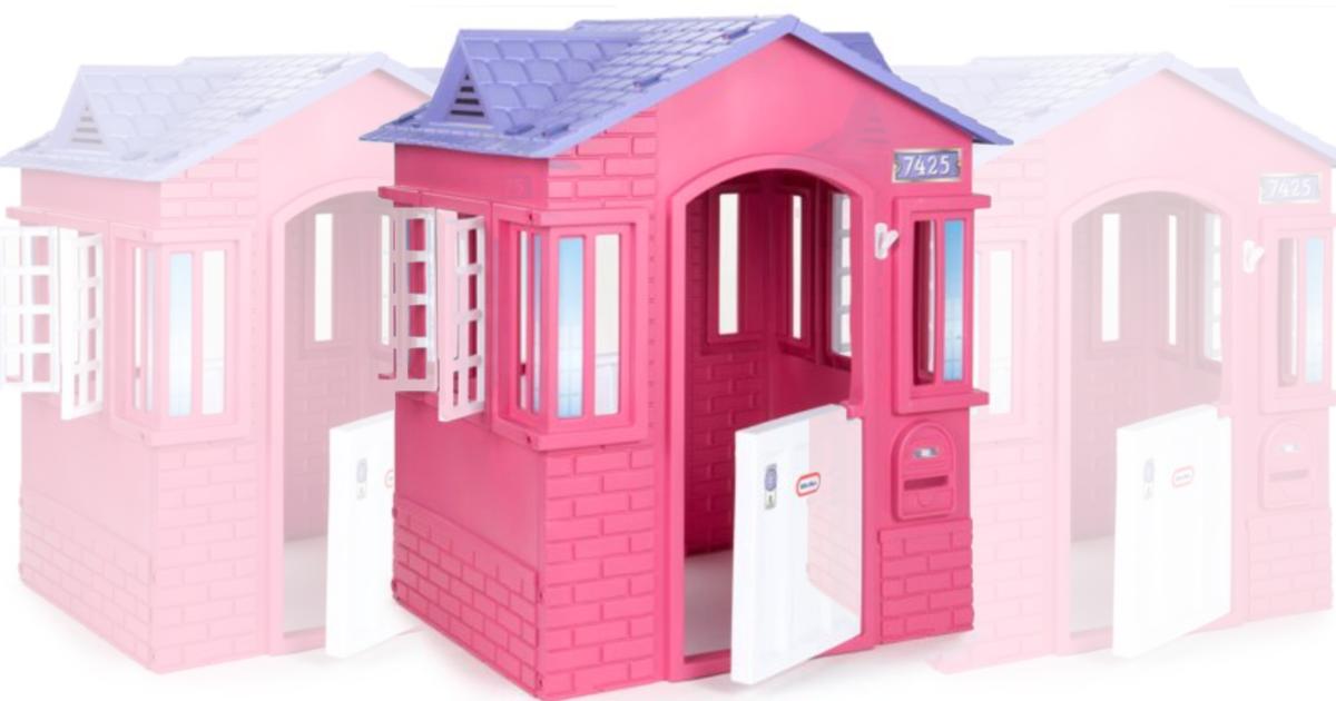 Little Tikes Princess Cottage Playhouse Pink