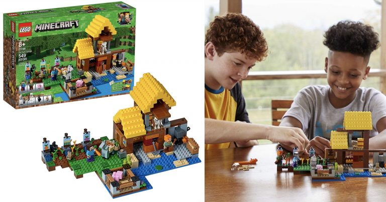 78df14c85fb4 Amazon: LEGO Minecraft The Farm Cottage $35.99 (Regular Price $50 ...