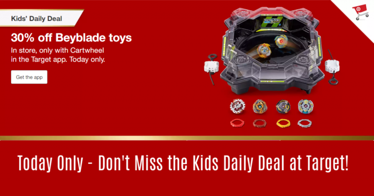 6f1cfc99b48 Today's Cartwheel deal is for 30% off Beyblade Burst Toys! Excludes  clearance. Use the Cartwheel in store or you can use it ONLINE when you use  order Pickup ...