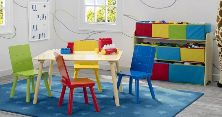 Amazon Wow Deal Delta Children Deluxe Multi Bin Toy Organizer And
