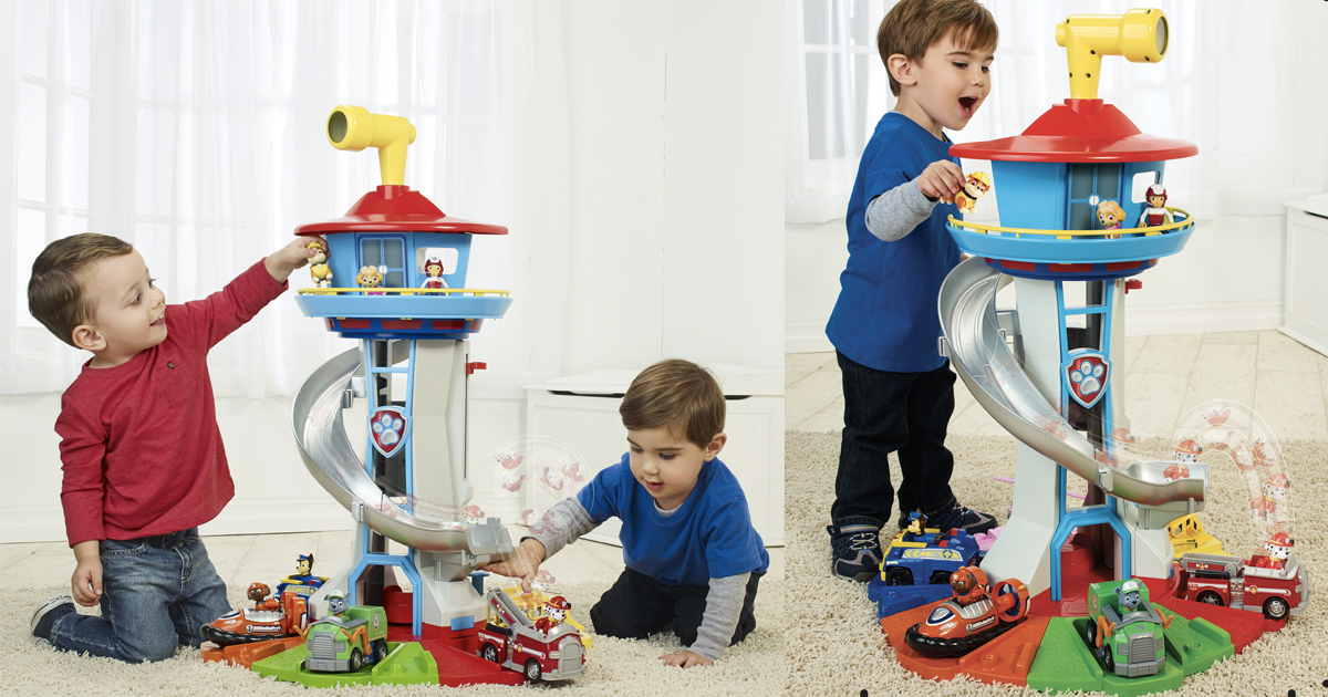 PAW Patrol My Size Lookout Tower with Exclusive Vehicle /& More