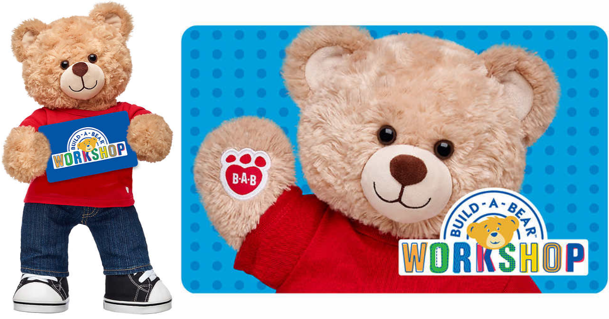 It's just a picture of Selective Build a Bear Coupon Printable