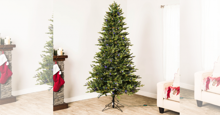 Lowe's: 7' Ashville Fir Artificial Christmas Tree W/ 500