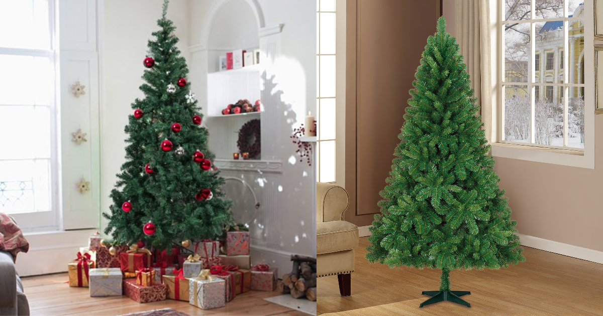 Walmart: 6.5-ft Unlit Artificial Christmas Tree $30 OR 7