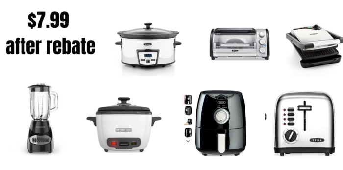 bca7ef9f Macy's Black Friday: Kitchen Small Appliances Just $7.99 (After Rebate) – More  than 20 to Choose From!