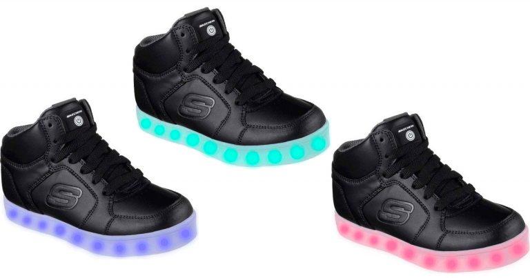 e4be5f9a860 Walmart Cyber Monday: Children's Skechers S Lights Energy Lights High Top  Sneaker $21 (Regular Price $65)