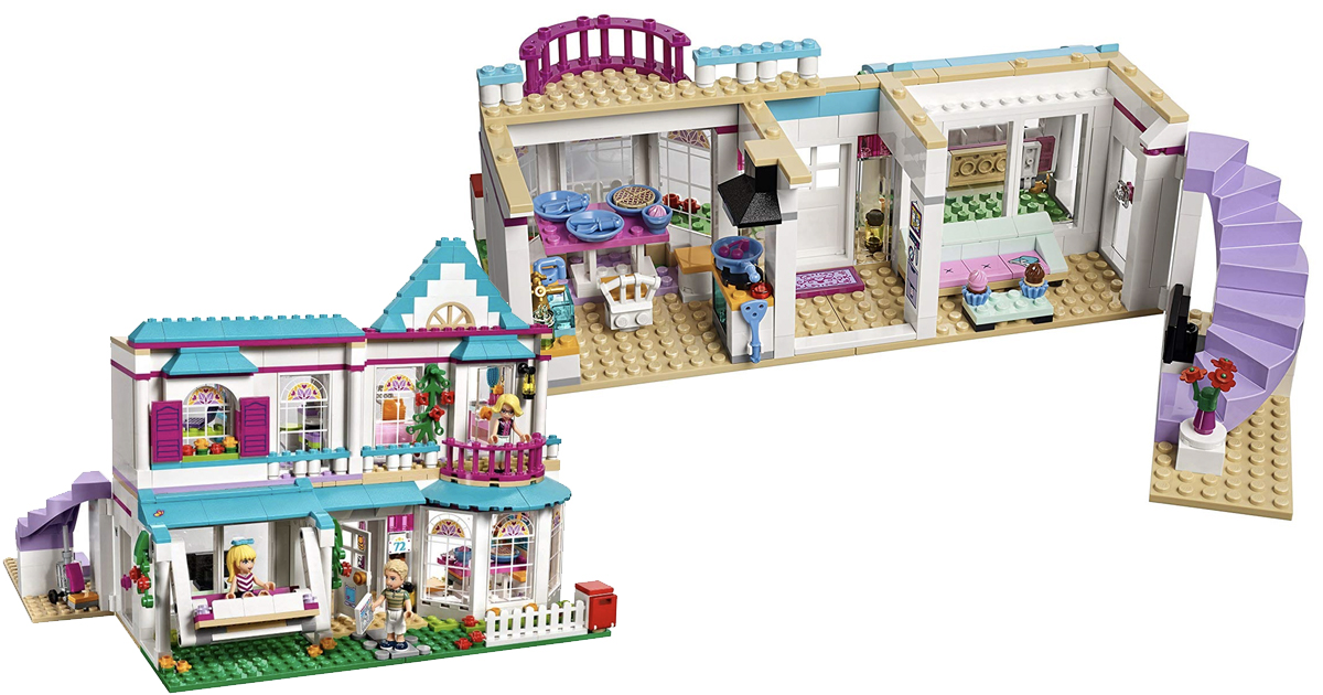Amazon: LEGO Friends Stephanie's House Toy $47.99 (Regular ...