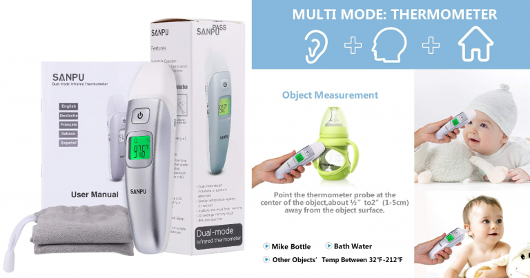 d059ed39a4d Amazon: Infrared Forehead and Ear Thermometer - Great Price after ...