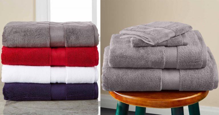 Walmart 5 Piece Set Bath Towel Collection Set 19 99 Regular Price