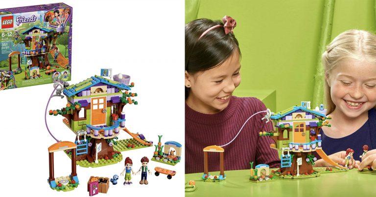 Amazon Lego Friends Mias Tree House Creative Building Toy Set