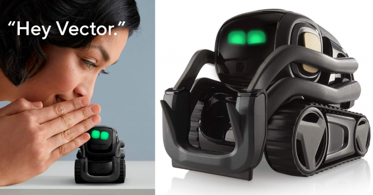 Today Only! Beats Black Friday Price! Anki Vector A Home Robot