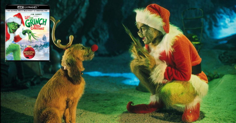 How The Grinch Stole Christmas Blu Ray.Amazon Dr Seuss How The Grinch Stole Christmas 4k Blu