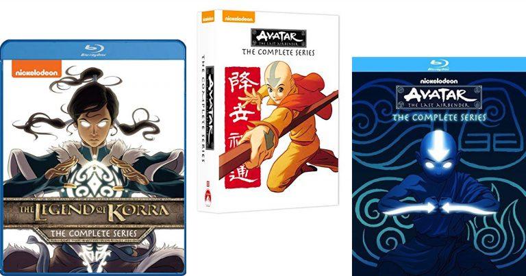 6ab6766adb4 Amazon: Save on Avatar The Last Airbender & The Legend of Korra ...
