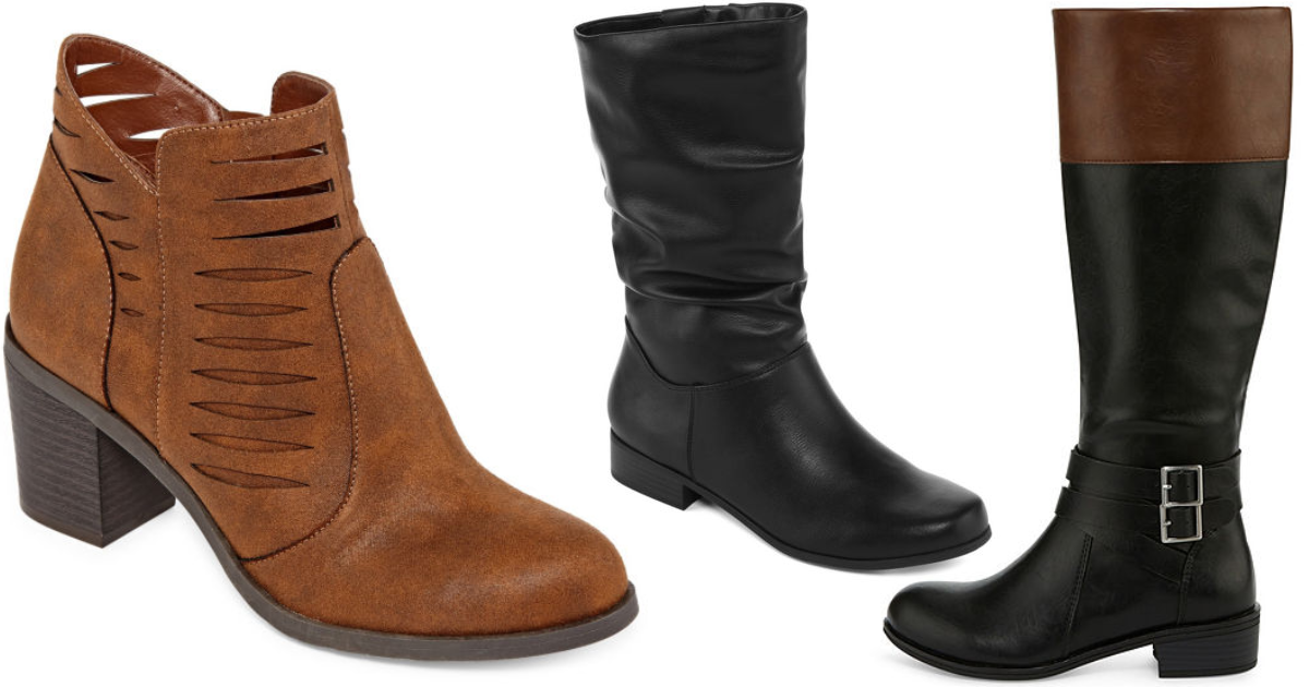 Jcpenney Women S Boots Buy One Get Two Free