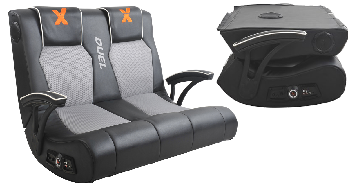 Walmart: X Rocker Dual Commander Gaming Chair $109.97