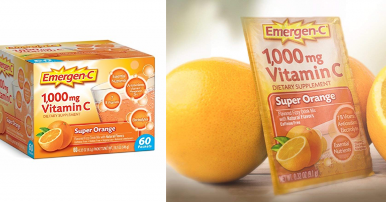 picture about Emergen C Coupon Printable referred to as 60 Rely Emergen-C Tremendous Orange Taste - Wonderful Subscribe
