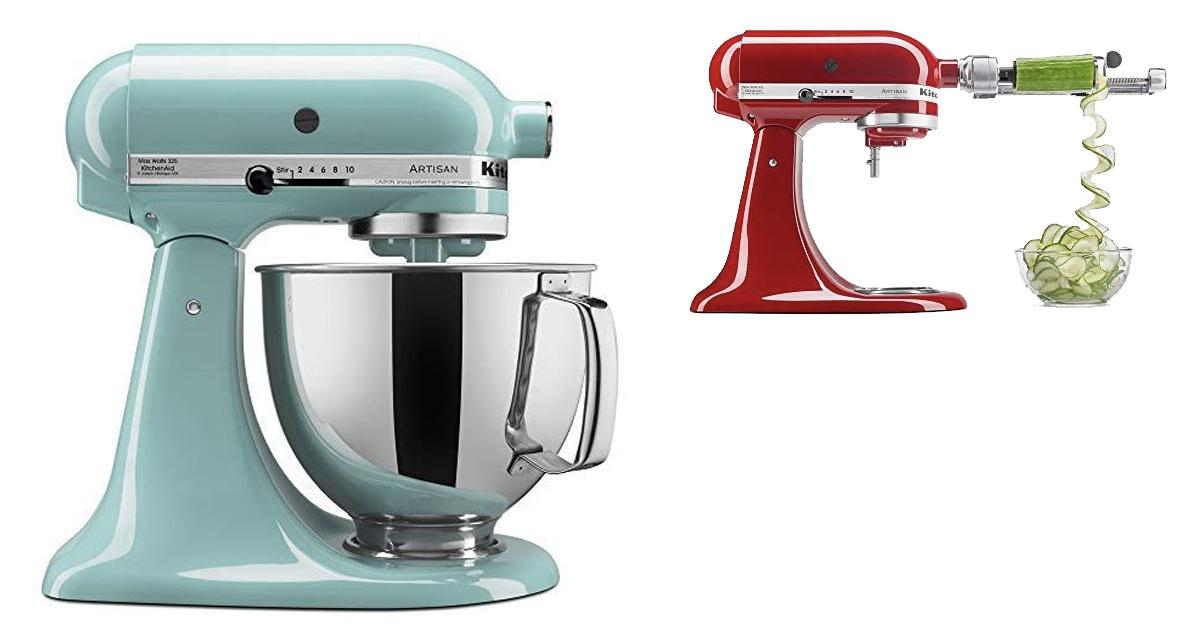 Amazon Kitchenaid Artisan Series 5 Qt Stand Mixer With