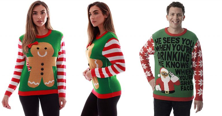 Amazon Christmas Sweater For Men And Women Mylitter One Deal At