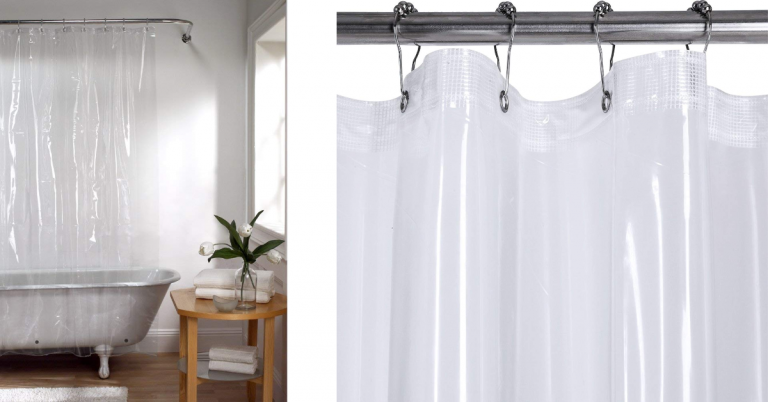 Heavy Duty Clear Shower Curtain Liner 799 Regular Price 949