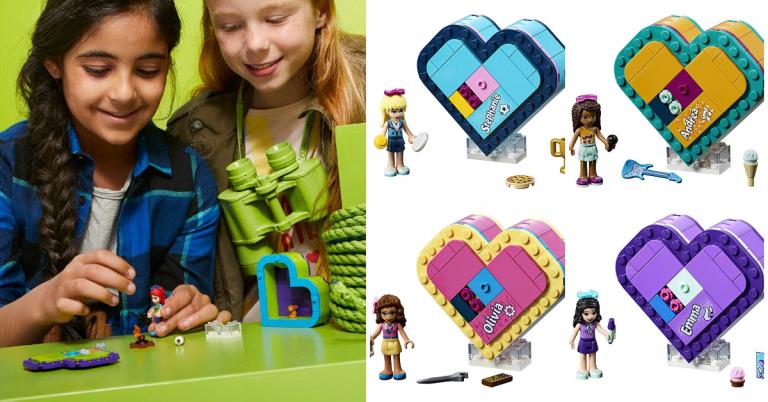 Amazon Lego Friends Mias Heart Box 41358 Building Kit Mylitter