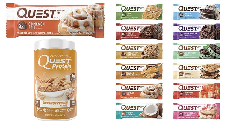bf838c2adb1 Amazon: Save on Quest Nutrition favorites - MyLitter - One Deal At A ...