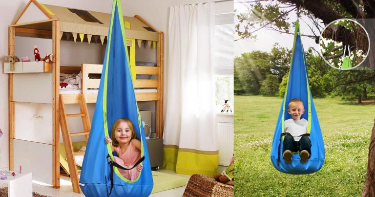 Fabulous Amazon Kids Pod Swing Seat Hanging Hammock Chair Low Uwap Interior Chair Design Uwaporg