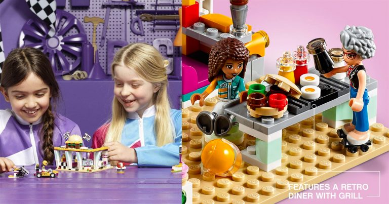 Amazon Lego Friends Drifting Diner Race Car And Go Kart Toy Low