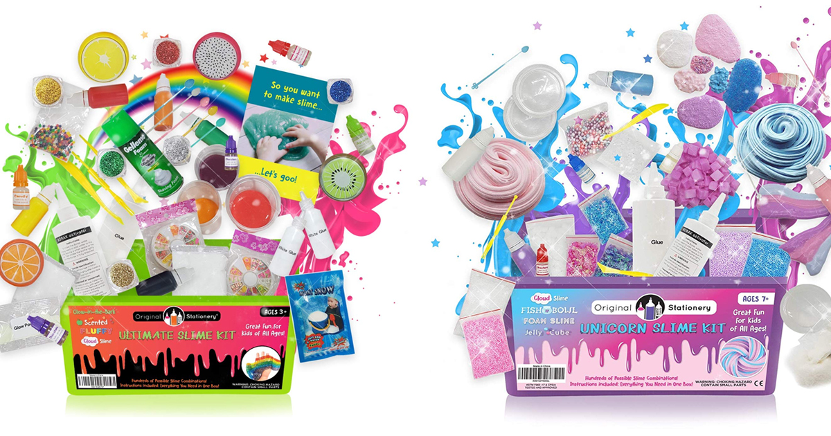 Amazon Save On Ultimate Slime Kit Supplies Mylitter