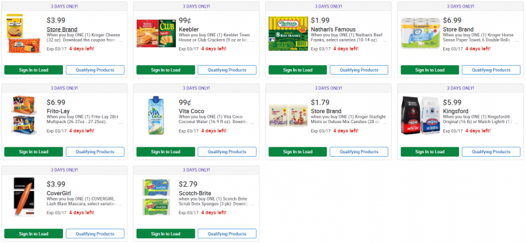 picture about Nathans Hot Dog Printable Coupons named Kroger: Snag 3 Times of Electronic Promotions 3/15 in the direction of 3/17