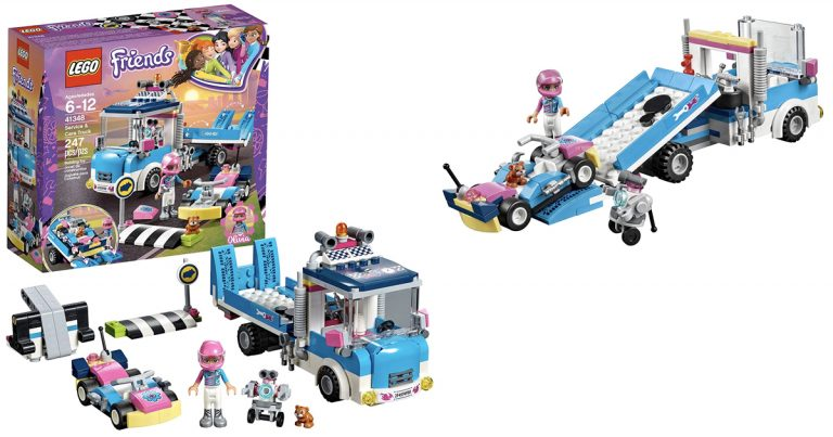 Amazon Lego Friends Service And Care Truck 1397 Regular Price