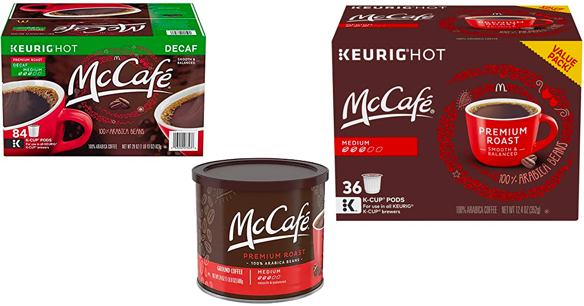 Amazon Save On Mccafe K Cups And Coffee Mylitter One