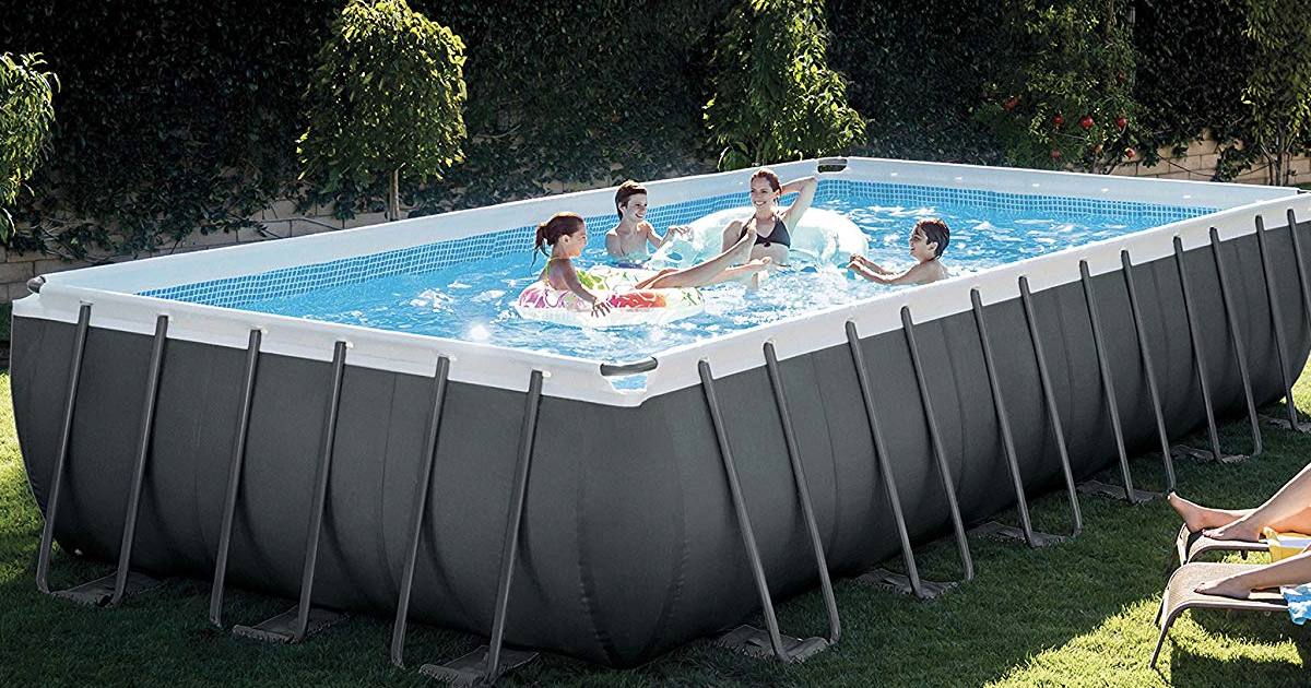 Amazon Save On Intex Above Ground Pools And Accessories