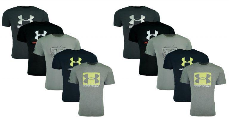 810c412318 Proozy: Under Armour Men's Spring Tech T-Shirt 5-Pack $49 (Regular Price  $24.95)