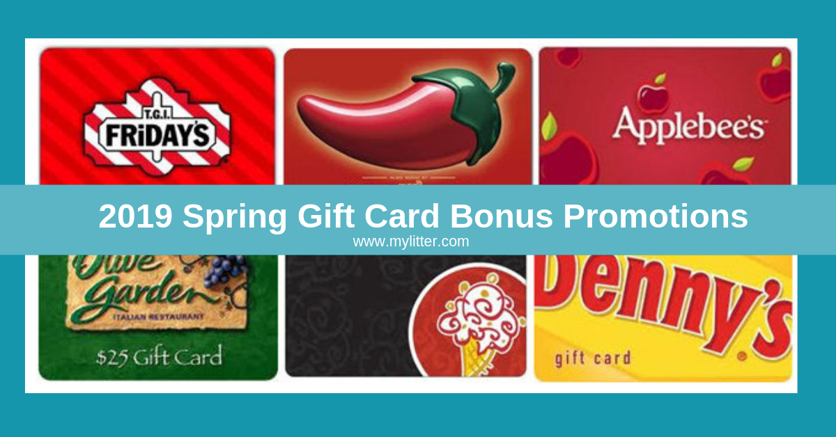 photo about O'charley's $5 Off $20 Printable Coupon called 2019 Spring present Card Reward Specials That Oneself Will Appreciate