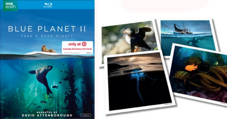 Target: Blue Planet II Blu-ray $10 - Includes 4 Exclusive