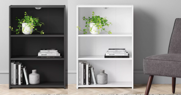 3 Shelf Bookcases Only 2 22 At Target Choose From 3 Colors