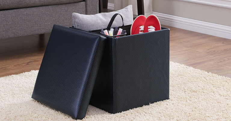 Wondrous Walmart Collapsible Square Storage Ottoman 8 Regularly 30 Gmtry Best Dining Table And Chair Ideas Images Gmtryco