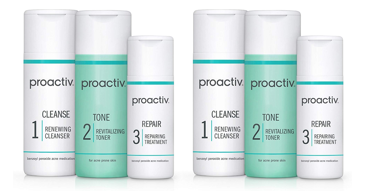 Prime Day Live Proactiv Solution 3 Step Acne Treatment System 30 Day Starter Size Mylitter One Deal At A Time