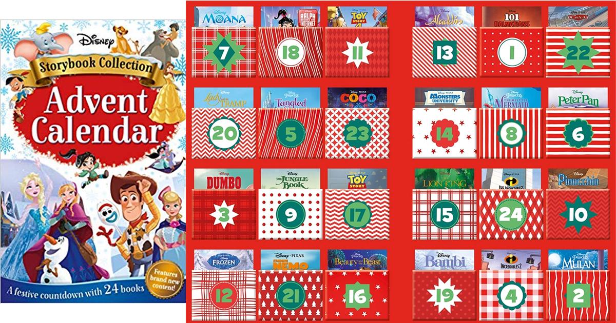 pre order disney storybook collection advent calendar. Black Bedroom Furniture Sets. Home Design Ideas