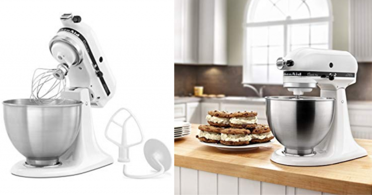 KitchenAid Classic Plus 4.5-qt. Stand Mixer Shipped Free + ...