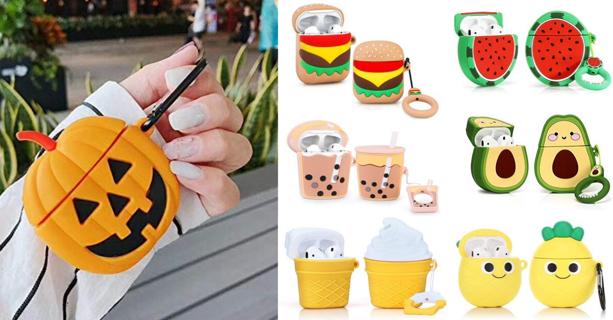 Amazon Fun Foodie Airpods Silicone Case Covers Digital Coupon