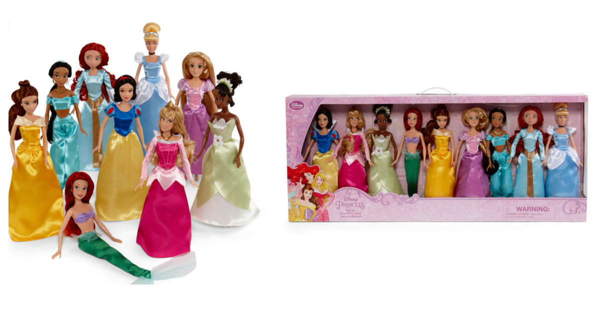 Disney Collection Princess Doll 9 Piece Playset Mylitter One Deal At A Time