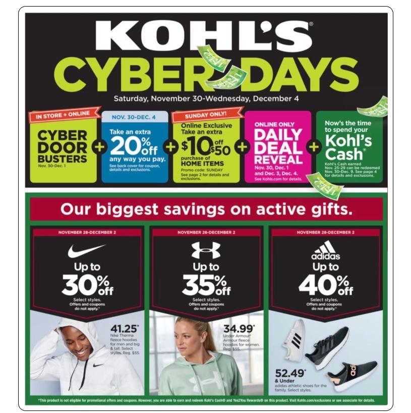 kohl's cyber monday - photo #19