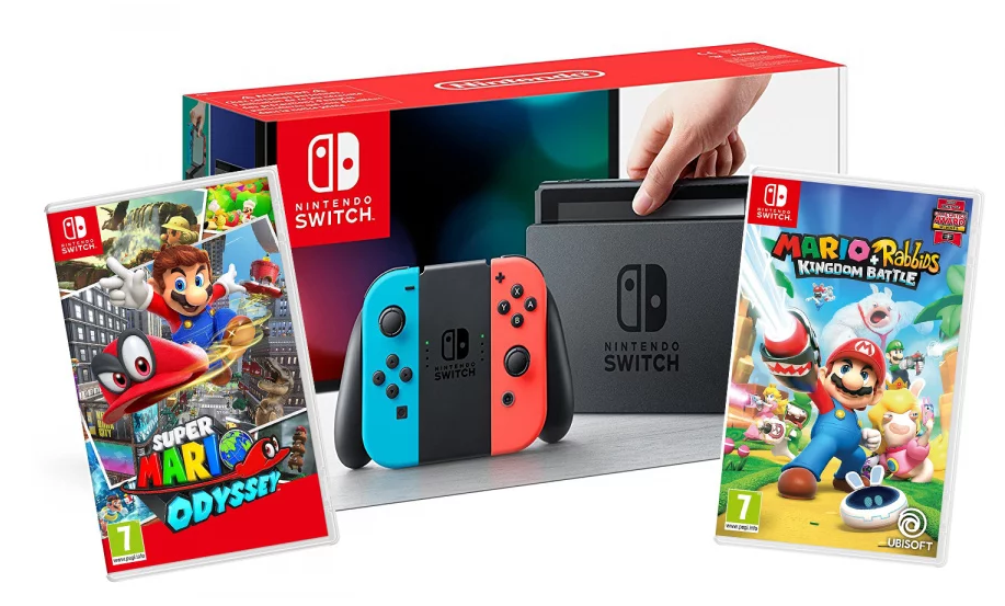 Nintendo Switch V2 Console Bundle Best Buy Cyber Monday Deals Mylitter One Deal At A Time