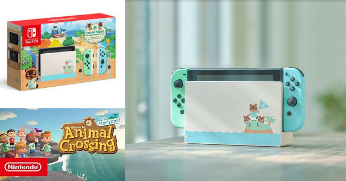 Preorder Now Nintendo Switch Animal Crossing New Horizon Edition Mylitter One Deal At A Time