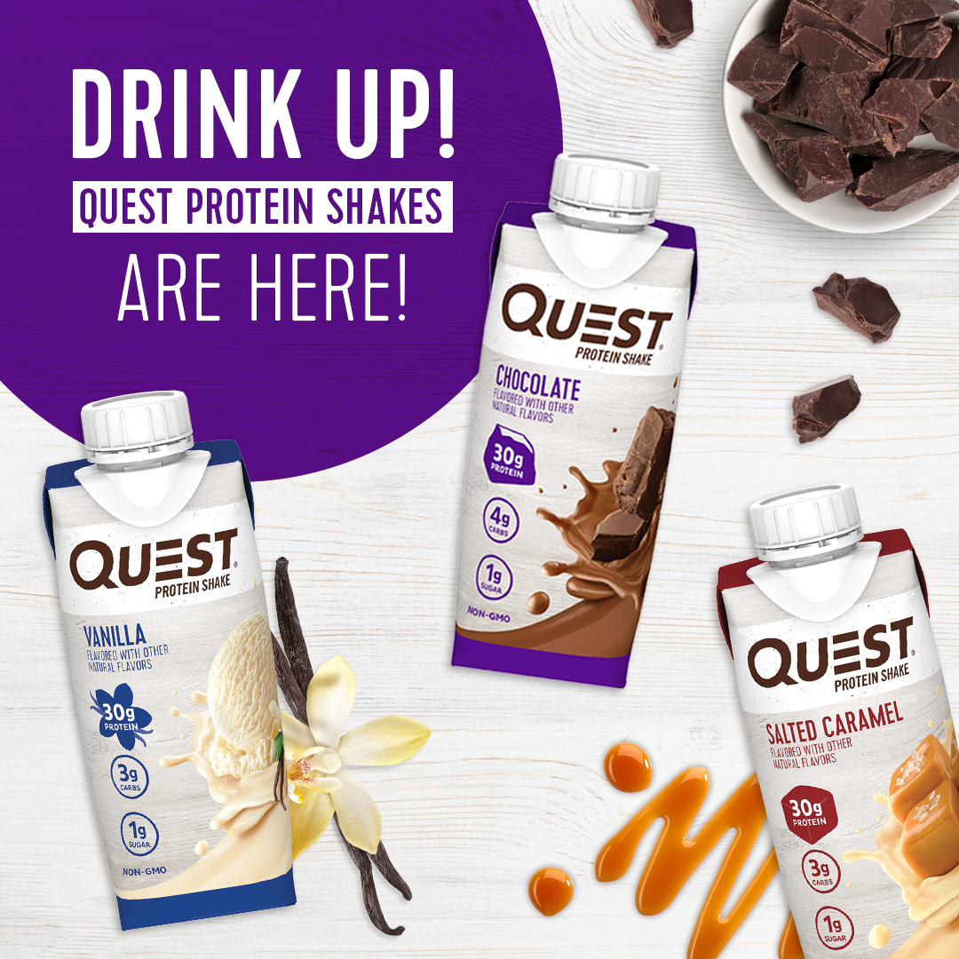 New Free Printable Coupons 6 Off 1 12pk Of Quest Protein Shakes Available At Walmart Mylitter One Deal At A Time